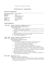 e angelini cv englishcurriculum vitae emanuele angelinipersonal informationplace and date of