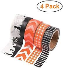 Spooky Halloween Washi Tape Set, 4 Rolls, Fall ... - Amazon.com