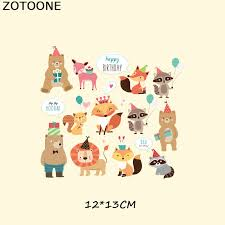 <b>ZOTOONE</b> Easter Egg Cartoon Animal <b>Set</b> Iron Patches for Clothes ...