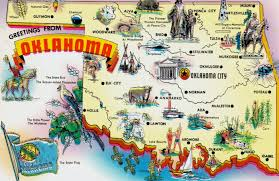 Image result for map of oklahoma