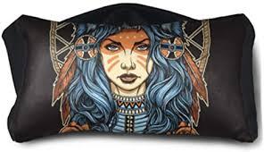 ENEVOTX Childrens Sleep Mask American A Girl with ... - Amazon.com