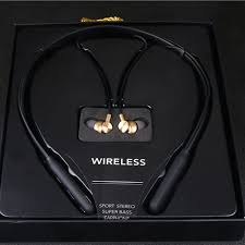 <b>M8</b> Neckband <b>Bluetooth</b> Earphone Sports Music Magnet <b>Earbuds</b> ...
