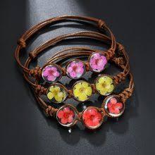 Buy <b>Fashion</b> Glass Dried Flowers Bracelets online - Buy <b>Fashion</b> ...