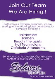 schere complex hair beauty salon and spa about us