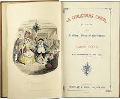 baugh s blog book review charles dickens a christmas carol frontispiece and title page from the first edition of 1843