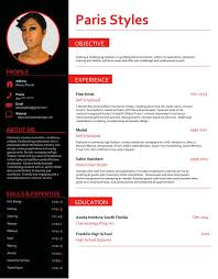 best resume styles examples for your job com paris hair stylist sample resume objective experience