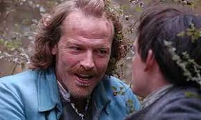 Iain Glen as Alan Breck and James Anthony Pearson as Davie Balfour - 300kidnapped_breck