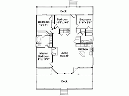 Eplans Low Country House Plan   One Story Pier Foundation      Level
