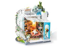 Румбокс <b>DIY HOUSE</b> DG12 Loft книжной лавки и др - Агрономоff