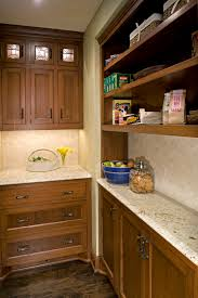 kitchen cabinets home office transitional: shallow kitchen cabinets kitchen traditional with beige custom woodwork glass