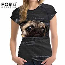 Detail Feedback Questions about <b>FORUDESIGNS Funny</b> 3D Pug ...