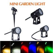 <b>Outdoor</b> Garden Light <b>3W</b> Mini <b>LED Flood Spot</b> Light Lawn Lamp ...