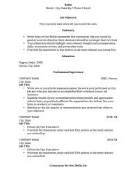 doc job resume examples for college students com resume examples job resume