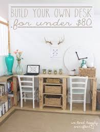 diy desk designs you can customize to suit your style build your own office