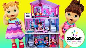 kidcraft dollhouse for baby alive dolls lalaloopsy potty poop 18 girl dolls disneycartoys youtube brand baby wooden doll house