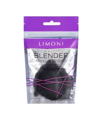 <b>Спонж для макияжа</b> Limoni Blender <b>Makeup</b> Sponge Black ...