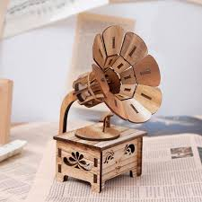 <b>Creative Gramophone Musical Box</b> - Artistic Pod