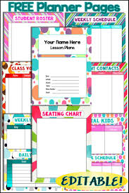 17 best ideas about teacher planner lesson do you want colorful fun additions to your teacher planner check out these
