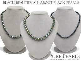 free shipping pearl_long 8 9mm black aaa pearl necklace 100 inch