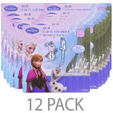 (12-Pack) Disney Frozen <b>Olaf</b> 8GB <b>USB Flash Drive</b> & 2-in-<b>1</b> 8GB ...