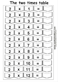 Multiplication-1 Digit / FREE Printable Worksheets – WorksheetfunMultiplication Times Tables Worksheets – 2, 3, 4 & 5 Times Tables – Four