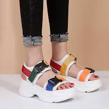 Lucyever 2019 <b>New Fashion Women</b> Platform Sandals <b>Ladies</b> ...