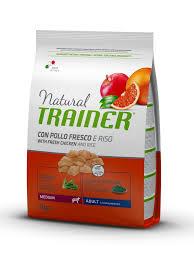 <b>Natural Adult Medium</b> Chicken dry | <b>Natural Trainer</b> | <b>Natural Trainer</b>