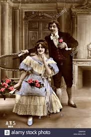 th century w beauty stock photos th century w beauty 18th century upper class european couple stock image