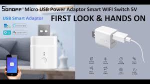 <b>Sonoff Micro</b> USB Adapter WIFI Switch <b>5V</b>