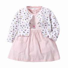 <b>2019 Summer</b> Infant <b>Baby Girl</b> Dress Cotton Floral Bow Korea Style ...