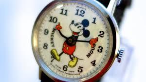<b>Mickey Mouse</b> watch! <b>Disney</b> Swiss watch - YouTube