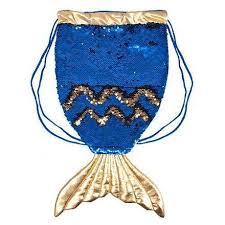 Детская <b>Сумка</b>-рюкзак Fancy Хвост русалки RUA1 Blue, цена ...