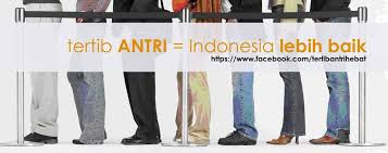 Image result for anime orang antri