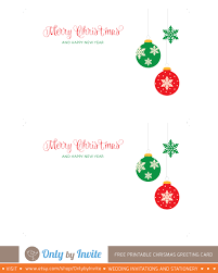 printable christmas greeting card template only by invite printable christmas card template