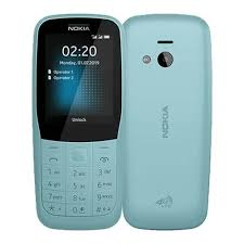 <b>Мобильный телефон Nokia</b> 220 4G Dual sim (TA-1155) Blue ...
