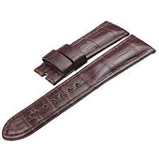 <b>ZLIMSN</b> Customized <b>Crocodile Leather</b> Watch <b>Band Strap</b> Belt for ...