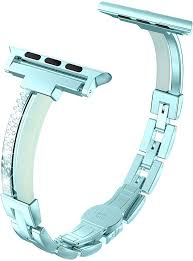 Wearlizer for Apple <b>Watch Strap</b> 42mm 44mm, Stainless Steel <b>Corn</b> ...