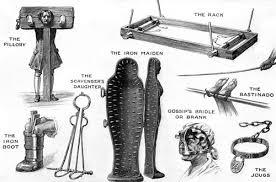 strumenti tortura