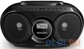 <b>Магнитола Philips AZ318B/12</b> черный — купить по лучшей цене в ...