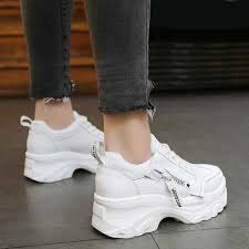 Women <b>Casual</b> Shoes <b>2019 New Spring</b> Fashion White Sneakers ...