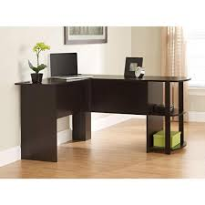 ameriwood l shaped desk in espresso 9354303pcom the home depot home office furniture cherry finished