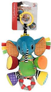 <b>Infantino Игрушка</b>-подвеска Слоненок — купить в интернет ...