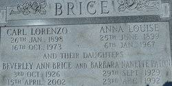Carl Lorenzo Brice Added by: AMC - 113202944_137273340317