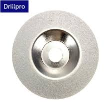 <b>Drillpro 100mm 4 inch</b> Diamond coated Grinding Wheel Grinder ...