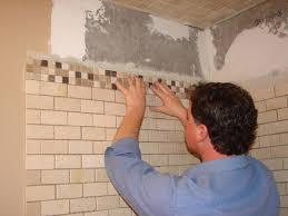 photo bathroom repair walls