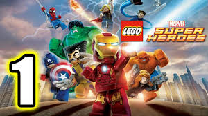 <b>LEGO</b> Marvel <b>Super Heroes</b> Walkthrough PART 1 [PS3] Lets Play ...