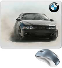"""Коврик для мышки """"<b>BMW</b> E39"""" #357563 от Curipopik - <b>Printio</b>"""