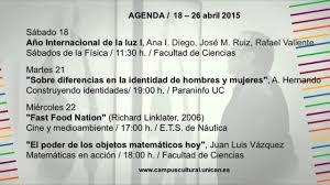 Resultado de imagen de Agenda Cultural Campus