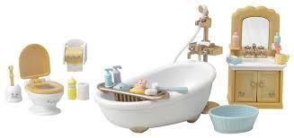 <b>Игровой набор</b> Sylvanian Families <b>Мебель для</b> ванной комнаты ...