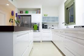 clean kitchen: italian kitchen design modern with clean lines